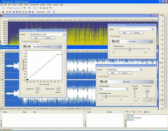 Acoustica SE Screenshot 2
