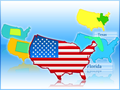 Maps Usa Icon Collection 1