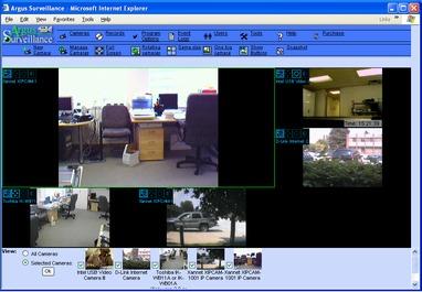 Argus Surveillance DVR Screenshot