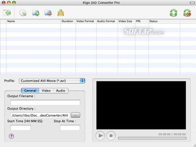 Kigo DVD Converter for Mac Screenshot 3