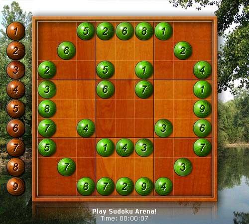 Sudoku Puzzle Generator Screenshot
