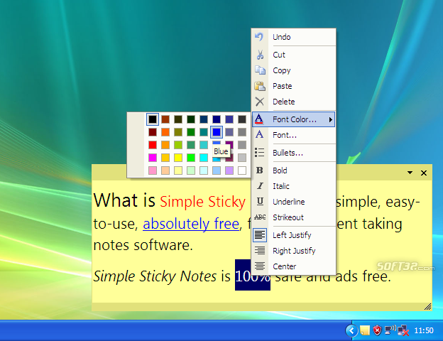 Simple Sticky Notes Screenshot 2