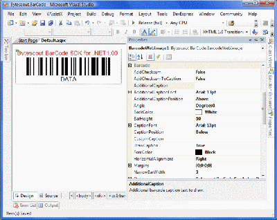 Bytescout BarCode SDK Screenshot