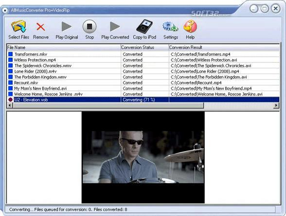 AllMusicConverter Pro + VideoRip Screenshot 2