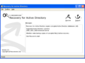 Recovery for ActiveDirectory 3