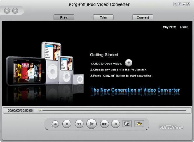 iOrgSoft iPod Video Converter Screenshot 2