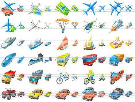 Transport Icons for Vista Screenshot 1