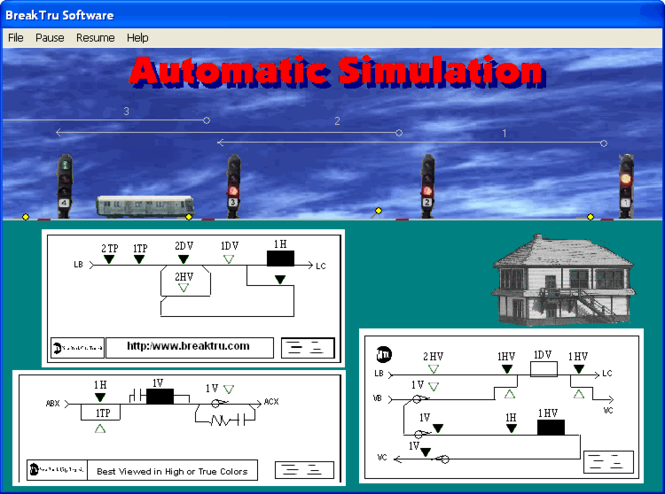 AUTOSIM Screenshot