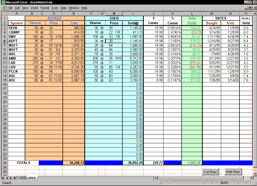 StockWatch Screenshot