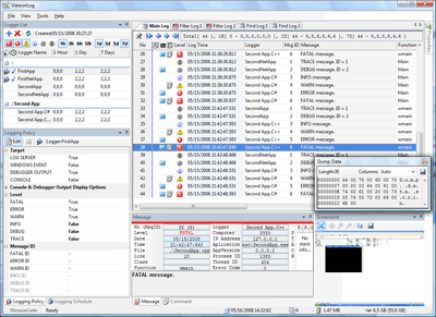 ViewonLog for Visual Studio 2005 SP1 Screenshot
