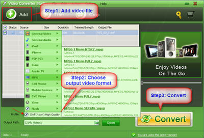 Video Converter Studio Screenshot