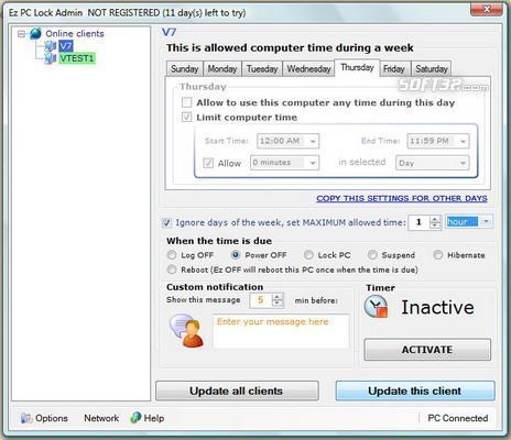 Ez PC Lock Screenshot 3