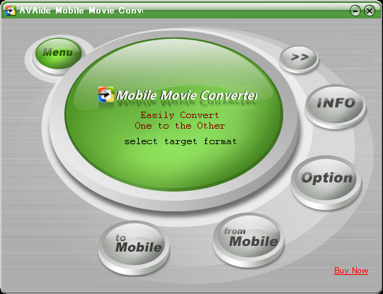 AVAide Mobile Movie Converter Screenshot