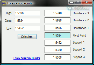 Forex Pivot Points Screenshot 3