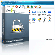 ImVajra Password Manager Screenshot