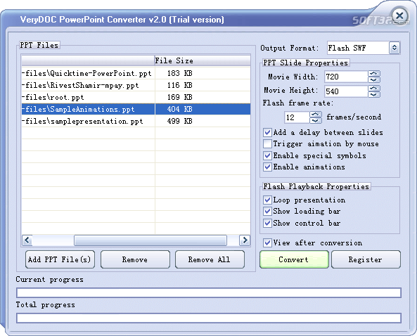 VeryDOC PowerPoint Converter Screenshot 3