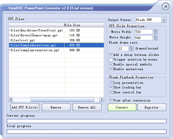 VeryDOC PowerPoint Converter Screenshot