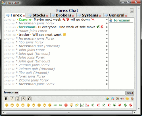Forex Chat Screenshot 1