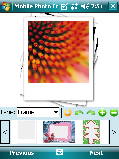 Mobile Photo Frame Screenshot