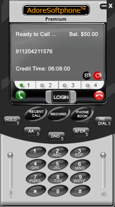 Free Premium Softphone Software Screenshot