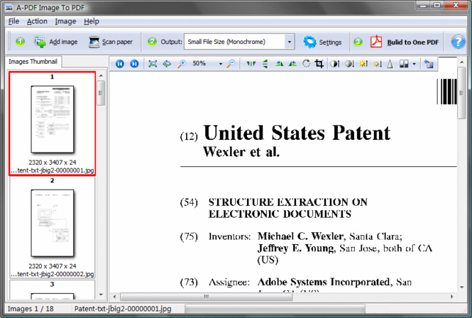 A-PDF Image to PDF Screenshot 3