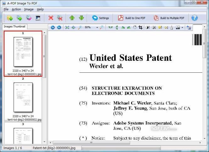 A-PDF Image to PDF Screenshot 2