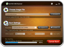 ImTOO ISO Burner Screenshot