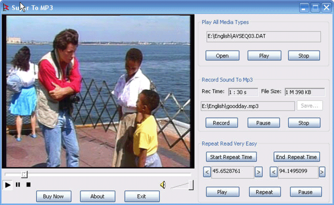 FTV Audio Recorder Screenshot