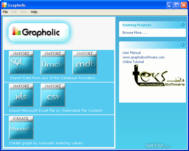 Grapholic Screenshot