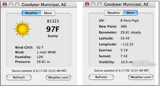 WeatherSnitch Screenshot