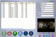 Tinysoar dvd to windows mobile converter Screenshot 1