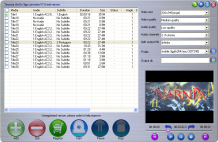 Tinysoar dvd to 3gp converter Screenshot 1