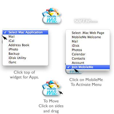 MobileMe Button Screenshot