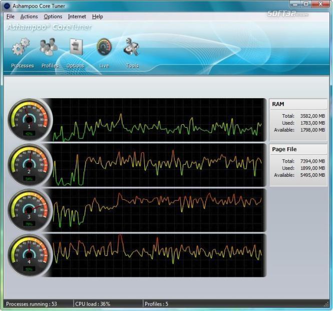 Ashampoo Core Tuner Screenshot 2