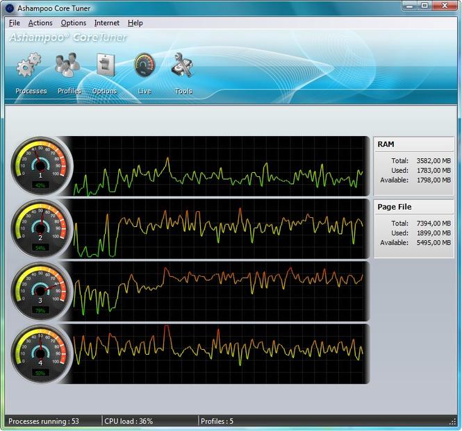Ashampoo Core Tuner Screenshot 3