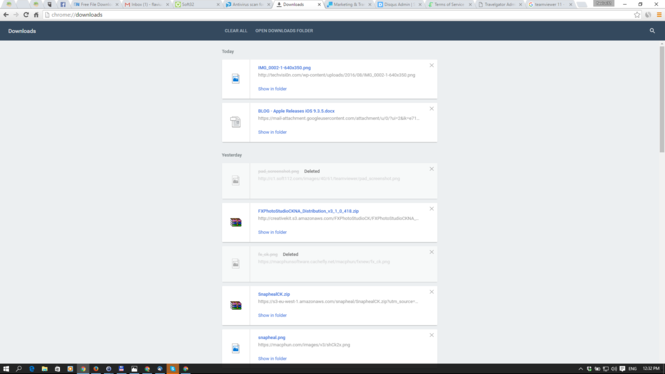 Google Chrome Screenshot 2