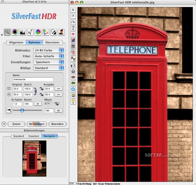 SilverFast HDR Studio (Mac) Screenshot 2