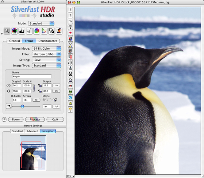 SilverFast HDR Studio (Mac) Screenshot