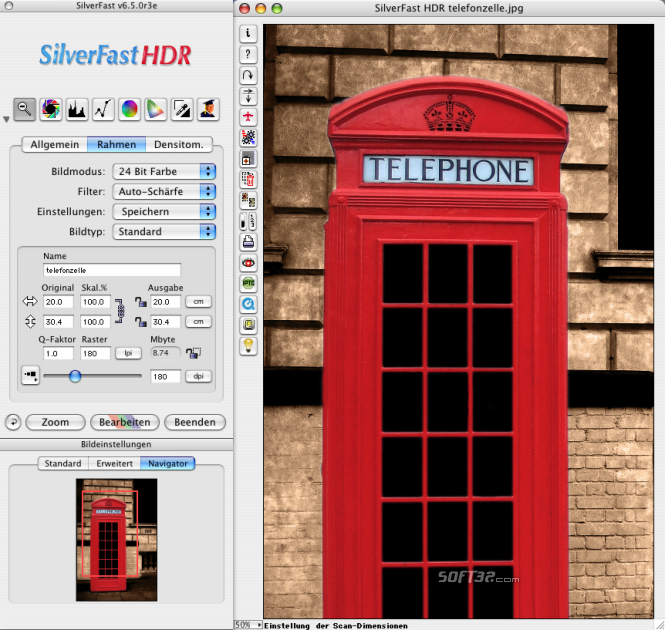 SilverFast HDR Studio (Win) Screenshot 2