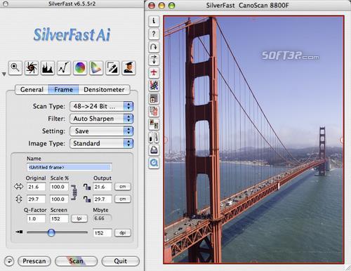 SilverFast Ai Canon Scan-Software (Mac) Screenshot 2