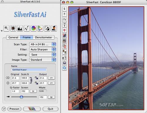 SilverFast Ai Canon Scan-Software (Win) Screenshot 2