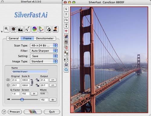 SilverFast Ai Canon Scan-Software (Win) Screenshot 1