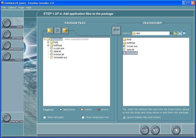 Excelsior Installer Screenshot 1