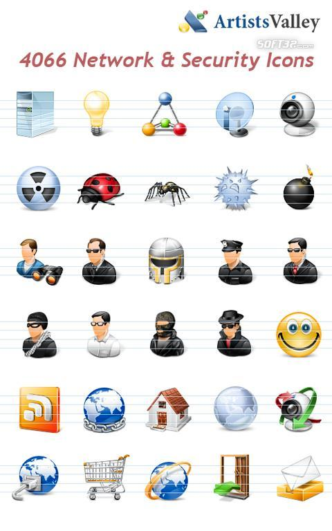 Network Security Icons Screenshot 2