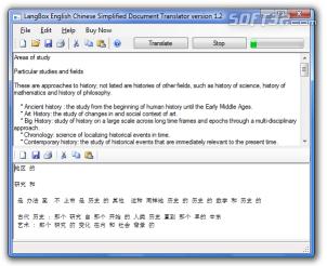 LangBox English to Chinese Cantonese Document Translator Screenshot 3