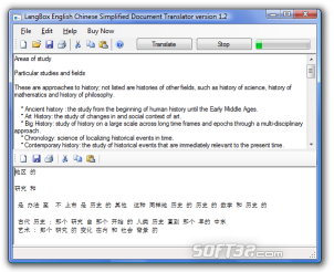LangBox English to Hindi Document Translator Screenshot 3