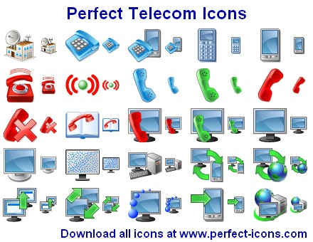 Perfect Telecom Icons Screenshot 1