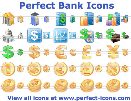 Perfect Bank Icons Screenshot 1