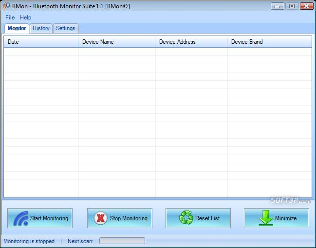 BMon-Bluetooth Monitor Suite Screenshot 1