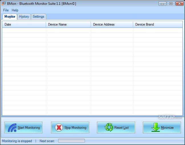 BMon-Bluetooth Monitor Suite Screenshot